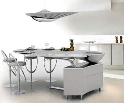 Trois cuisines futuristes à la loupe