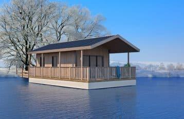 Aquashell, un concepteur de cabane flottantes innovantes