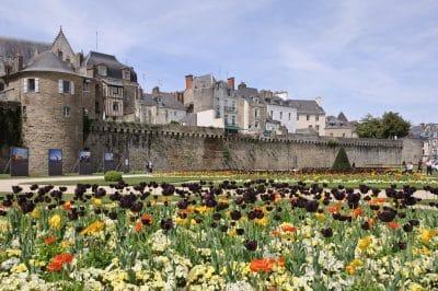 Vannes (morbihan, France) : Les Remparts