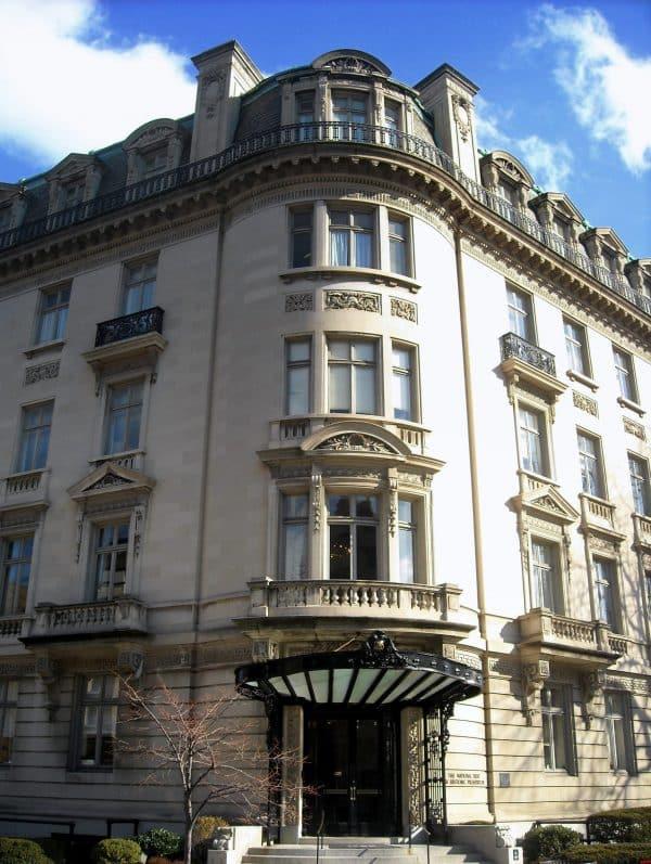 Andrew Mellon Building Facade