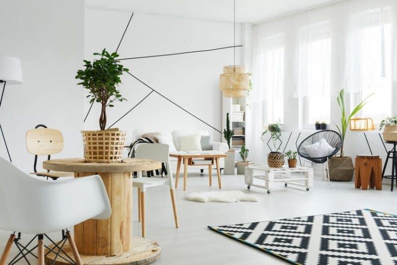 scandinavian style room
