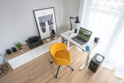 bureau teletravail design