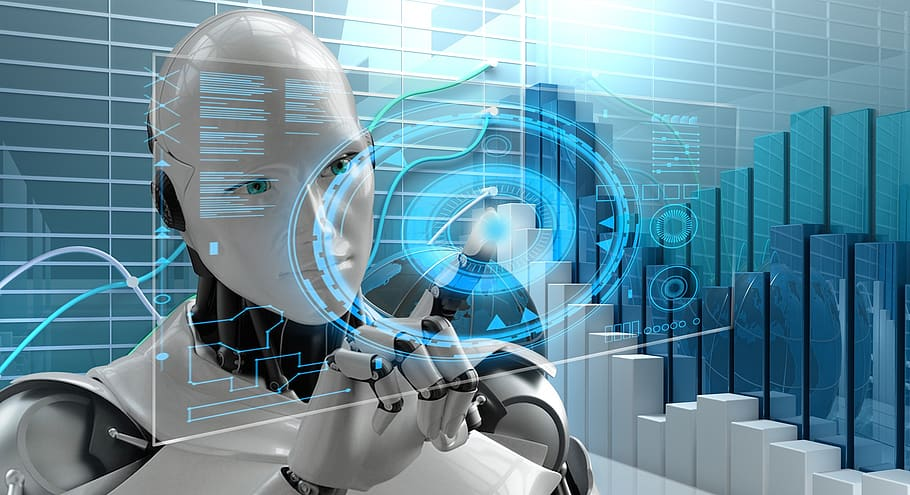 artificial intelligence technology futuristic science